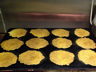 Traditional Staffordshire Oatcakes Baking