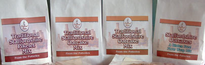 Staffordshire Oatcake mixes