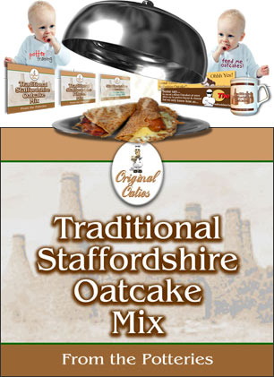 Traditional Staffordshire Oatcake Mix